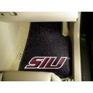 "Southern Illinois Salukis 17"" x 27"" Carpet Auto Floor Mat (Set of 2 Car Mats)"