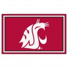 Washington State Cougars 4' x 6' Area Rug