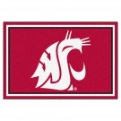Washington State Cougars 5' x 8' Area Rug by