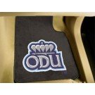 "Old Dominion Monarchs 17"" x 27"" Carpet Auto Floor Mat (Set of 2 Car Mats)"