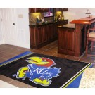 Kansas Jayhawks 5' x 8' Area Rug by