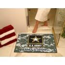 "US Army 34"" x 45"" All Star Floor Mat"
