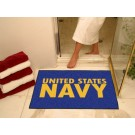 "Navy Midshipmen 34"" x 45"" All Star Floor Mat"