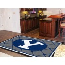 Brigham Young (BYU) Cougars 5' x 8' Area Rug by