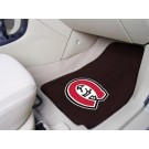 "St. Cloud State Huskies 17"" x 27"" Carpet Auto Floor Mat (Set of 2 Car Mats)"