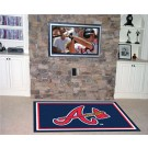 Atlanta Braves 4' x 6' Area Rug
