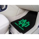 "North Dakota  Hawks 27"" x 18"" Auto Floor Mat (Set of 2 Car Mats)"