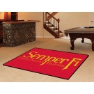 US Marines 5' x 8' Area Rug