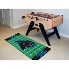 "Carolina Panthers 30"" x 72"" Football Field Runner"