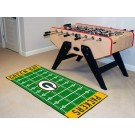 "Green Bay Packers 30"" x 72"" Football Field Runner"