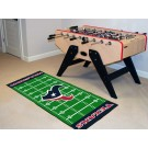 "Houston Texans 30"" x 72"" Football Field Runner"