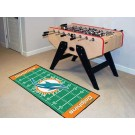 "Miami Dolphins 30"" x 72"" Football Field Runner"