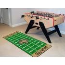"""New Orleans Saints 30"""" x 72"""" Football Field Runner"""