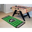 "Oakland Raiders 30"" x 72"" Football Field Runner"