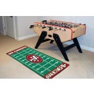 "San Francisco 49ers 30"" x 72"" Football Field Runner"