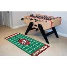 """San Francisco 49ers 30"""" x 72"""" Football Field Runner"""