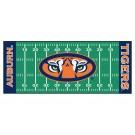 """Auburn Tigers 30"""" x 72"""" Football Field Runner"""