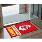 """Kansas City Chiefs 19"""" x 30"""" Uniform Inspired Starter Floor Mat"""