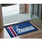 "New England Patriots 19"" x 30"" Uniform Inspired Starter Floor Mat"