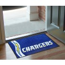 "San Diego Chargers 19"" x 30"" Uniform Inspired Starter Floor Mat"