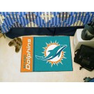 "Miami Dolphins 19"" x 30"" Uniform Inspired Starter Floor Mat"