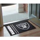 "Oakland Raiders 19"" x 30"" Uniform Inspired Starter Floor Mat"