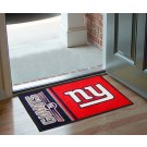 "New York Giants 19"" x 30"" Uniform Inspired Starter Floor Mat"