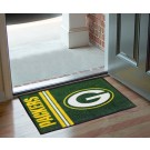 "Green Bay Packers 19"" x 30"" Uniform Inspired Starter Floor Mat"