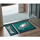 """Philadelphia Eagles 19"""" x 30"""" Uniform Inspired Starter Floor Mat"""