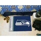 "Seattle Seahawks 19"" x 30"" Uniform Inspired Starter Floor Mat"