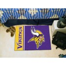 """Minnesota Vikings 19"""" x 30"""" Uniform Inspired Starter Floor Matf"""