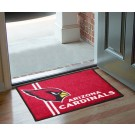 "Arizona Cardinals 19"" x 30"" Uniform Inspired Starter Floor Mat"
