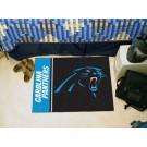"Carolina Panthers 19"" x 30"" Uniform Inspired Starter Floor Mat"