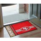 "San Francisco 49ers 19"" x 30"" Uniform Inspired Starter Floor Mat"