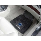 "Dallas Cowboys 17"" x 27"" Heavy Duty 2-Piece Vinyl Car Mat Set"