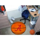"Alabama Crimson Tide 27"" Round Basketball Mat (Crimson 'A')"