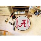 """Alabama Crimson Tide 27"""" Round Baseball Mat (Crimson 'A')"""