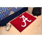 "Alabama Crimson Tide ""A"" 19"" x 30"" Starter Mat (Crimson 'A')"