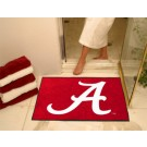 "Alabama Crimson Tide 34"" x 45"" All Star Floor Mat (Crimson 'A')"