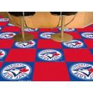 "Toronto Blue Jays 18"" x 18"" Carpet Tiles (Box of 20)"