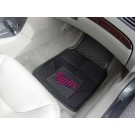 "Minnesota Twins 17"" x 27"" Heavy Duty 2-Piece Vinyl Car Mat Set"