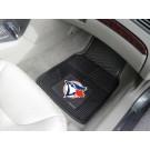 """Toronto Blue Jays 17"""" x 27"""" Heavy Duty 2-Piece Vinyl Car Mat Set"""