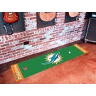 "Miami Dolphins  18"" x 72"" Putting Green Runner"