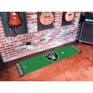 "Oakland Raiders 18"" x 72"" Putting Green Runner"