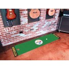 "Pittsburgh Steelers 18"" x 72"" Putting Green Runner"