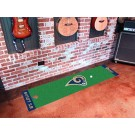 "St. Louis Rams 18"" x 72"" Putting Green Runner"