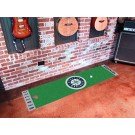 "Seattle Mariners 18"" x 72"" Putting Green Runner"