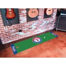 "Texas Rangers 18"" x 72"" Putting Green Runner"