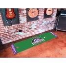 "Colorado Rockies 18"" x 72"" Putting Green Runner"