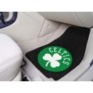 """Boston Celtics 18"""" x 27"""" Auto Floor Mat (Set of 2 Car Mats)"""